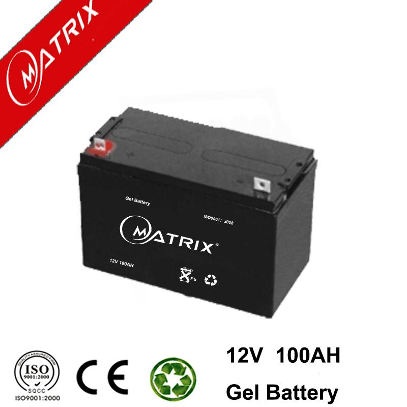 12V 100AH GEL Battery High Performance