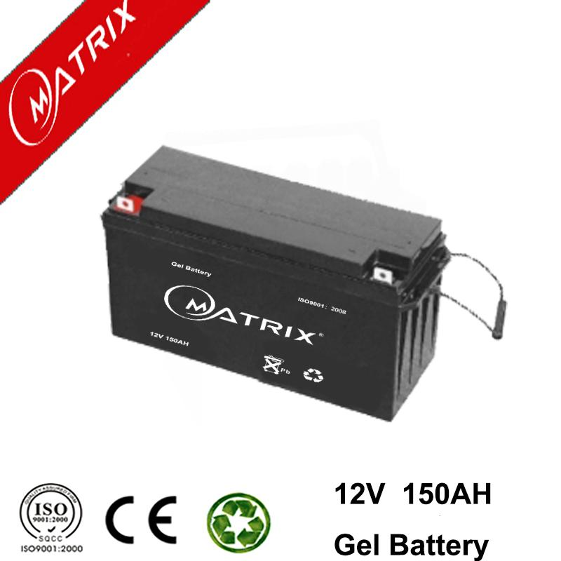 12v 150Ah Deep Cycle GEL Batteries For DC Power Supply