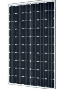 SolarWorld 300-Watt 60-Cell Monocrystalline Solar Panels Black-on-White SW300 Mono