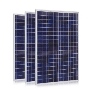ACOPOWER Solar Panel, 300W Polycrystalline PV Panel for 12V Batteries with MC4 Connector (3 x 100 Watt)